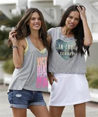 Adriana Lima and Alessandra Ambrosio Photoshoot in Venice beach March 7, 2013