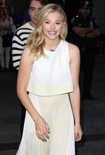 Chloe Moretz on Good Morning America August 18, 2014