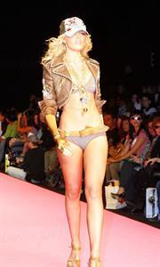 Abigail Clancy in a bikini