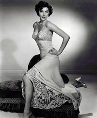 Ava Gardner in lingerie