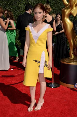 Kate Mara 2014 Creative Arts Emmy Awards, Los Angeles August 16, 2014