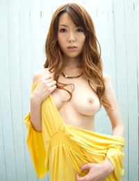 Yui Hatano in lingerie - breasts