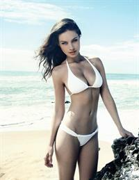 Patricia Beck in a bikini