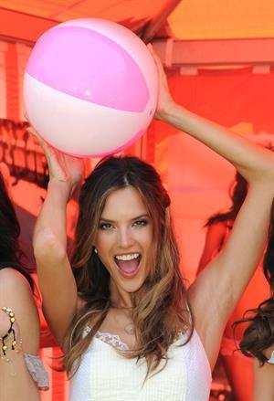 Alessandra Ambrosio Bombshell Summer Tour Kickoff on May 12, 2011