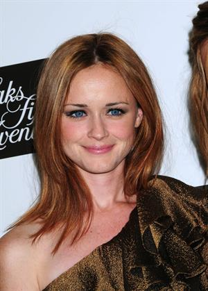 Alexis Bledel W Magazines September issue celebration on September 14, 2010