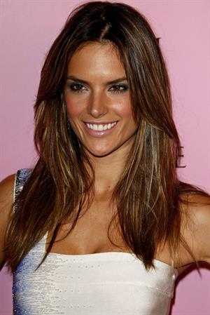 Alessandra Ambrosio Victoria's Secret celebrates the 15th anniversary of the Swim Catalogue on March 25, 2010