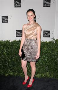 Alexis Bledel launch of the New Designers Floor at Saks Fifth Avenue in New York City
