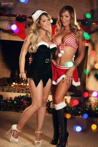 Capri Cavanni Twistys treat of the month for December 2014 in a festive Christmas hat
