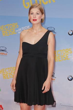 Rosamund Pike Hector and the Search for Happiness Berlin premiere August 5, 2014