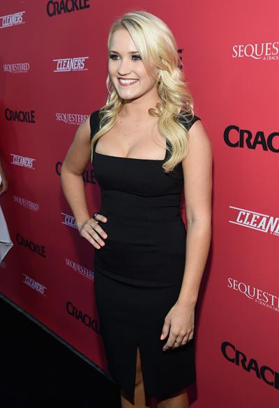 Emily Osment Crackle Original Series Summer premiere celebration, LA August 14, 2014