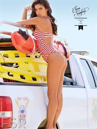 Sara Sampaio in a bikini - ass