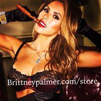 Brittney Palmer in lingerie