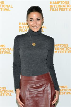 Emmanuelle Chriqui The 21st Annual Hamptons International Film Festival Day 3, on Oct 12, 2013