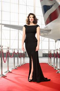 Gemma Arterton BA Red Carpet Routes Photocall, March 5, 2013