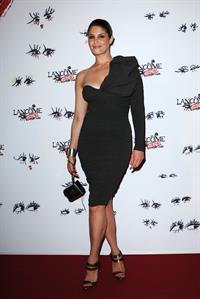 Gemma Arterton attending the Lancome Show by Alber Elbaz party in Paris - July 2, 2013