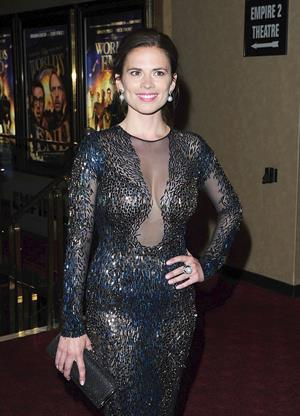 Hayley Atwell attending  The World's End  World Premiere in London on July 10, 2013