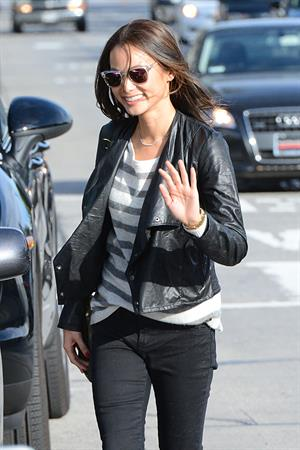 Jamie Chung shopping in LA 2/8/13