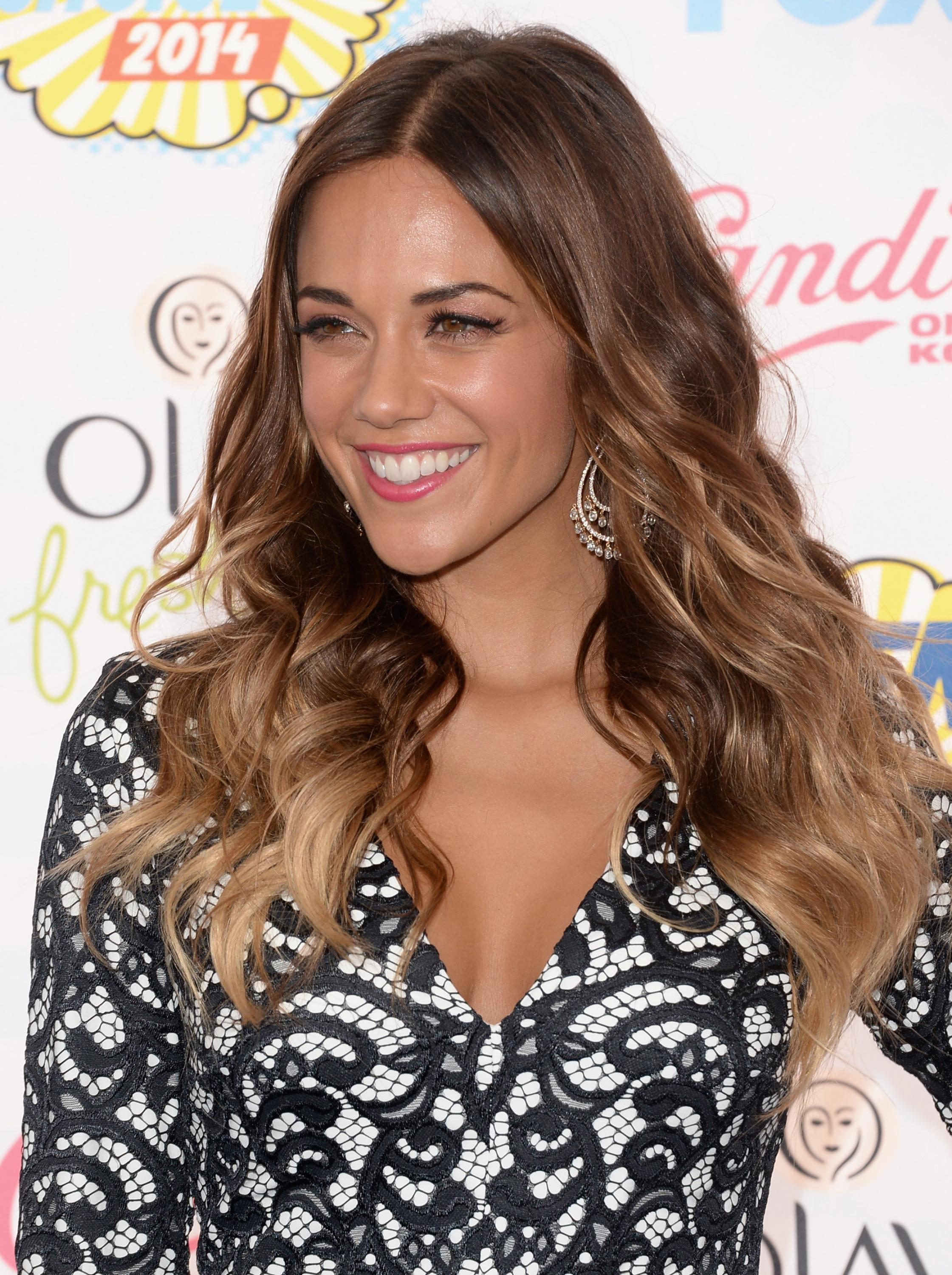 Jana Kramer attending the 2014 Teen Choice Awards, Los Angeles, August 10, 2014