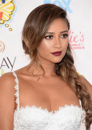 Shay Mitchell attending the 2014 Teen Choice Awards, Los Angeles August, 2014
