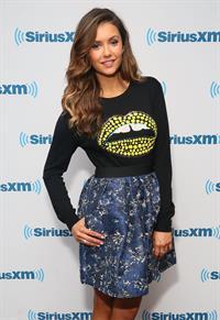 Nina Dobrev visits SiriusXM Studios in New York City on August 4, 2014