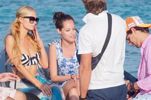 Paris Hilton On Holiday In Formentera
