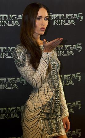 Megan Fox attending a Ninjas Turtles screening in Mexico July 29, 2014