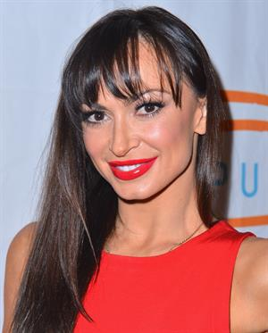Karina Smirnoff at the 12th Annual Lupus LA Orange Ball, May 24, 2012 in Beverly Hllls, CA