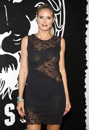 Heidi Klum Versus Versace Launch in New York 15.05.13
