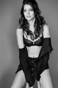 Bruna Dacal in lingerie