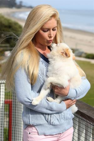 Heidi Montag in Santa Barbara on May 10, 2013