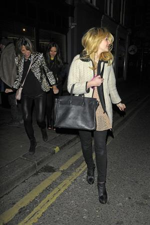 Holly Willoughby Groucho Club London - March 15, 2013