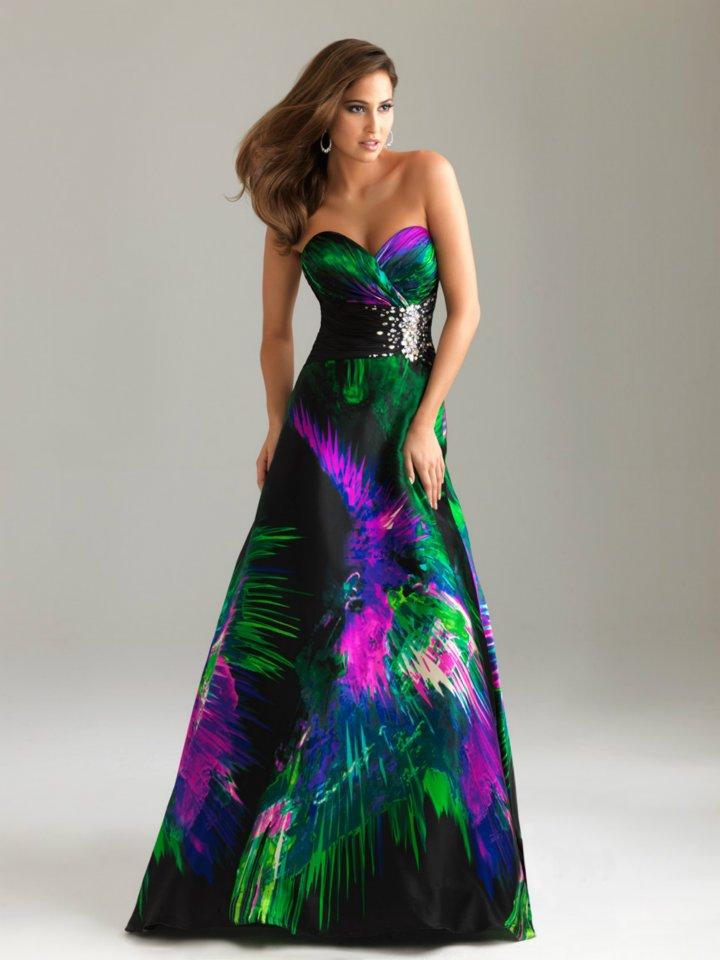 Фото платья ночь