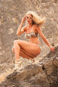 Brooke Mangum in a bikini