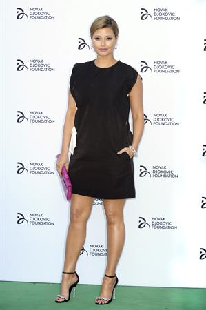 Holly Valance Novak Djokovic Foundation Gala Dinner -- London, Jul. 8, 2013