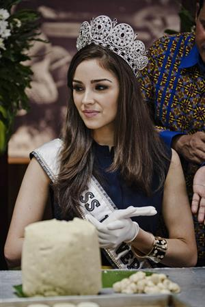 Olivia Culpo Visits Indonesia (Feb 7, 2013)
