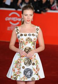 Scarlett Johansson premiere of 'Her' during the 8th Rome Film Festival November 10, 2013