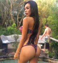 Paula Manzanal in a bikini - ass