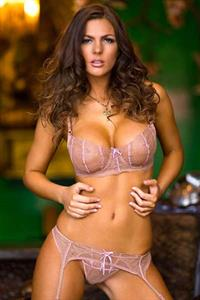 Jillian Beyor in lingerie