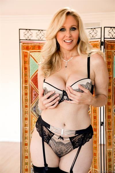 Julia Ann in lingerie