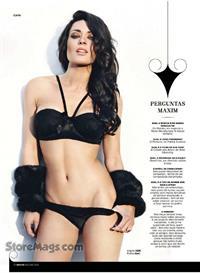 Diana Monteiro in lingerie