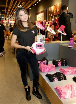 Sarah Hyland – PUMA Project Pink Charity 10/12/13