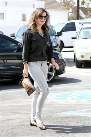 Sophia Bush at Ramirez Tran Salon in Beverly Hills 10/3/13
