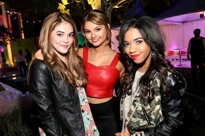 Stefanie Scott Aquafina Launch of FlavorSplash at Sony Pictures Studios - Los Angeles - October 15, 2013