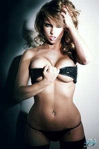 Sydney Barlette in a bikini