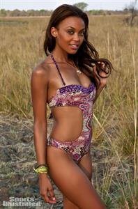 Kirby Griffin in a bikini