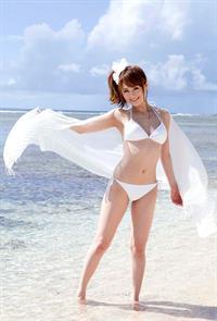 Akiho Yoshizawa in a bikini