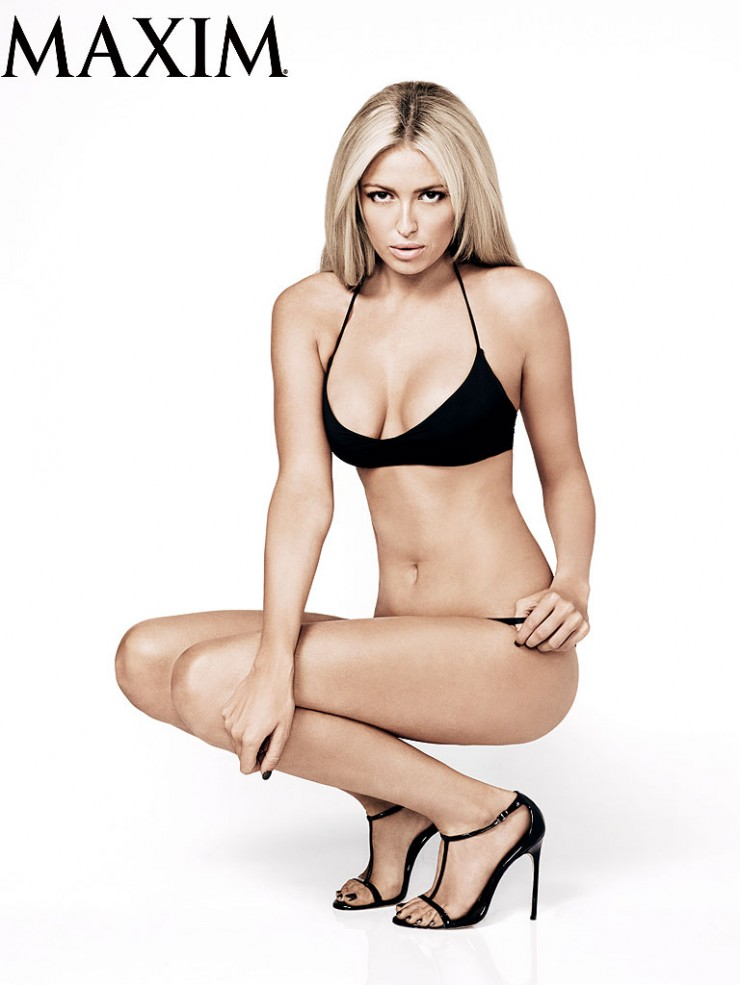 Paulina Gretzky in a bikini