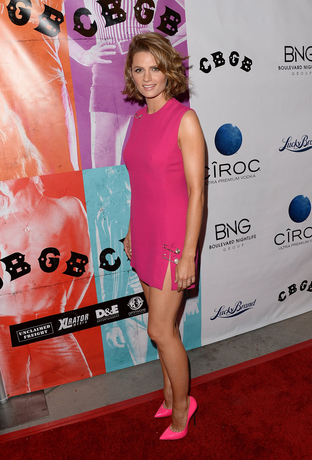 Actress/model Stana Katic arrives at the CBGB Special