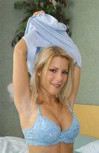 Nicky Reed in lingerie