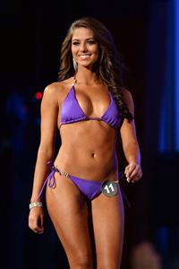 Meagan Pastorchik in a bikini